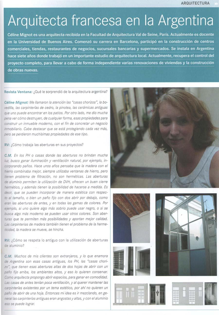 Articulo Revista Ventana 2012-01